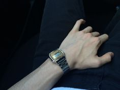 """His watches looks never have seen modern or """"fashionable"""", but in his time, he spent a lot of money for them."""