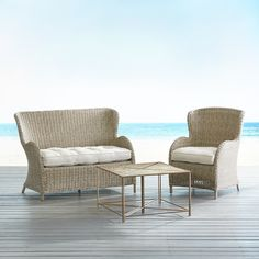 Camelia Mosaic Coffee Table 3 Piece Patio Set