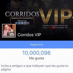 10000000 de FANS!!  10 Millones de gracias!!  - http://ift.tt/1HQJd81