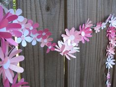 Cottage Tea Party Pink Daisy Chain by theartofhandmades on Etsy, $12.95