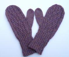 really aesthetically pleasing mitten pattern