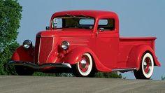 custom hot rod designs | 1935 Ford Pickup Truck - Featured Vehicles - Custom ... #classictrucks