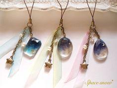 ストラップ「宇宙の宝石」