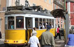 Lisbon: Is this the world's most romantic city? - by Kash Bhattacharya @BudgetTraveller #Portugal Photo: Tram 28 Lisbon