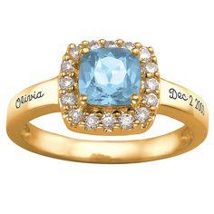 Clara Birthstone Ring
