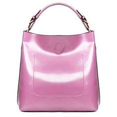 Luxury Bucket Style Casual Shoulder Bag
