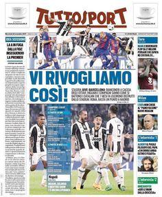 "Instagram: ""rassegna stampa  prime pagine ⚽️ quotidiani sportivi #GdS #tuttosport #CorSport  #Juve…"""