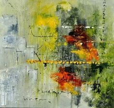 abstract 8841601, painting by artist ledent pol