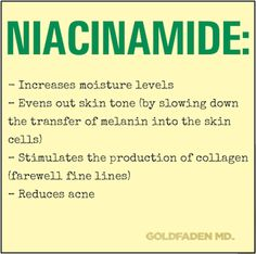 Niacinamide: The question isn't what does niacinamide (a component of Vitamin B3) do, the question is what doesn't niacinamide do? Hint: This ingredient can be found in #WakeUpCall + #HandsToHeart. #beauty