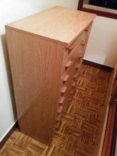 30€ mueble madera con 8 cajones