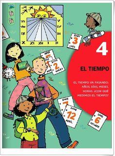 """Unidad 8 de Ciencias Sociales de 2º de Primaria: """"El paso del tiempo"""" Editorial, Comic Books, Cover, Socialism, Interactive Activities, Social Science, Unity, Driveways, United States"""