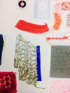 Textile Texture, Textile Fabrics, Textile Design, Fabric Design, Material Research, Creative Textiles, Textiles Techniques, Graffiti Lettering, Fabric Manipulation
