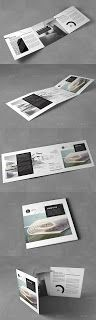 Photoshop Cafe: Square Cool Modern Architecture Trifold - Free PSD...