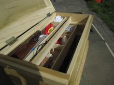 already messy inside of tool chest  #woodworking #joinery #handtool #tool #chest #carpentry #traditional #wooden