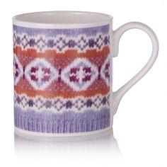 Fairisle Knit Mug