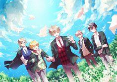 Ensemble Stars, Manga, Wallpaper, Diabolik, Anime, Fictional Characters, Fandoms, Games, Manga Anime