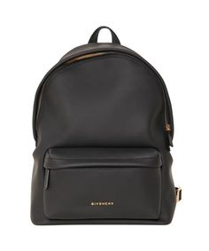 Givenchy spring/summer 2015 black pvc backpack with top handle and front zipped pocket. One inner pocket. Adjustable leather shoulder straps with stud applications. Width 19 x height 42 x depth 12 cm. Composition: 79% pvc 13% polyester 8% polyurethane
