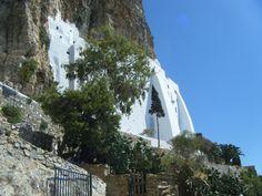 Monastery of Panagia Chozoviotissa - on Amorgos Island, Greece