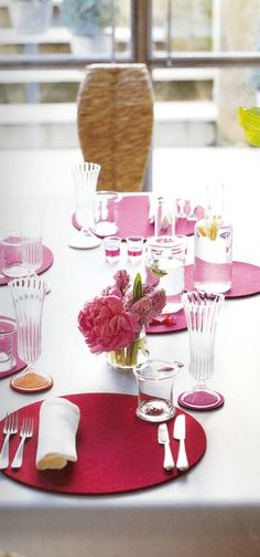"Image from Tricia Guild's book ""Think Pink""  You can purchase Designers Guild wallpaper and fabrics through www.janehalldesign.com"