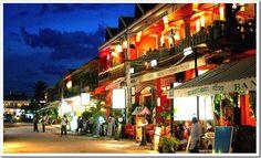 Siem Reap - A cidade mais visitada do Camboja.