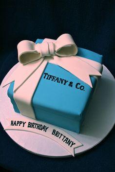 Tiffany box cake, its perfect already has my name on it lol