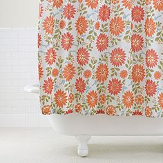 Just purchased a new shower curtain! Pretty colors! hopefully they are as nice in person as they are online!