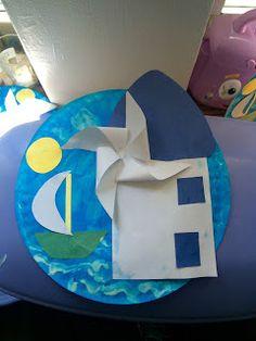 Το ημερολόγιο της Γιώτας: Δύο μήνες στον παιδικό σταθμό.....part 1 Paper Plate Crafts For Kids, Diy Crafts For Kids, Arts And Crafts, School Teacher, Pre School, Summer Crafts, Summer Activities, Paper Plates, Summer Time
