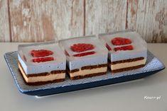 Malinka - ciasto bez pieczenia - Knurr.pl Cheesecake, Food, Cheesecakes, Essen, Meals, Yemek, Cherry Cheesecake Shooters, Eten