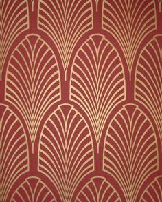 Art Decó Motif, would look great on a 1920's inspired invitation.
