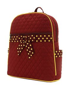 adorable FSU backpack <3