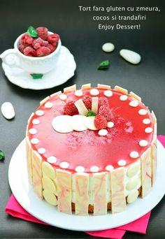 Coconut Mousse, Mousse Cake, Rose Water, Something Sweet, Raspberry, Deserts, Gluten, Birthday Cake, Baking