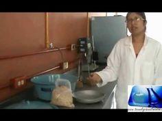 Ahumado de carne de pollo mediante los métodos en frio y caliente