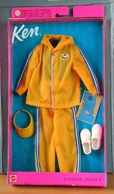 Barbie Ken Fashion Avenue 1999 Men Clothing Smooth Sailing in Pack | eBay