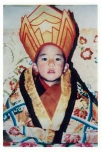 """This is the Panchen Lama! He is with the Dalaï Lama the most important religious leader for Tibet. About 14 years ago,the Dalai Lama recognized this small 6 yr old Tibetan boy by the name of Gedhun Choekyi Nyima as his follower. The Chinese then kidnaped him and his entire family and quickly appointed another child the """"Official Chinese Panchen Lama"""" who  the government has complete control over. Obviously, the world's Buddhist population has never accepted the Chinese Government's claim."""