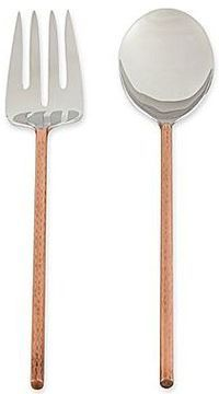 Set of 2 Copper Salad Servers