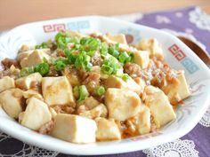 混ぜてレンチンするだけ!焼き肉のタレを使った 超お手軽ふわとろマーボー豆腐