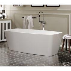 6215381 Knief Cube Frittstående badekar 1700x800 mm. Inkl. av- og overløpsett