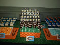 Football Themed Bday Party