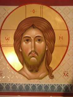 santo mandylion per mano di Assunta Fraraccio