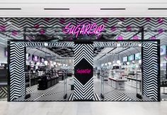 Betwin makes over beauty retailer with geometric candy stripes - News - Frameweb