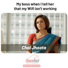 Boss reaction #wifi #wfh #wfhthing #internet #fiberinternet #fibertest Internet Speed Test, Fiber Internet, Wifi, Boss