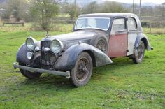 1939 Alvis Speed 25 Charlesworth Saloon