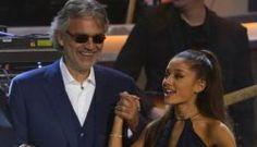 Ouça o dueto de Ariana Grande com o italiano Andrea Bocelli #Argentina, #ArianaGrande, #Cinema, #Disponível, #Filme, #Itunes, #Lançamento, #Novo, #Sucesso http://popzone.tv/ouca-o-dueto-de-ariana-grande-com-o-italiano-andrea-bocelli/