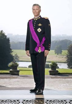 Philippe/Filip, 7th King of the Belgians  Philippe (French: Philippe Léopold Louis Marie, Dutch: Filip Leopold Lodewijk Maria, German: Philipp Leopold Ludwig Maria; born 15 April 1960) is the reigning King of the Belgians, having ascended the throne on 21 July 2013