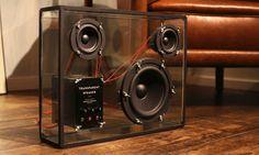 Transparent Speaker   Cool Material