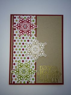 Stampin Up Festive Flurry by rainyboxcrafts - Cards and Paper Crafts at Splitcoaststampers