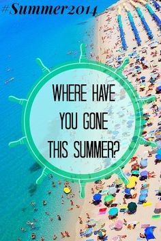 Book a trip! Would you relax on the #Beach or live the #CityLife on your #Vacation? #Summer2014