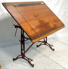 An area for work space in your house want Antique Drafting Table. Actually it isn't at all times should Vintage kind, however after all we all know Drafting Tools, Drafting Desk, Antique Drafting Table, Sewing Craft Table, Lunch Table, Art Stand, Antique Auctions, Furniture Design, Antiques