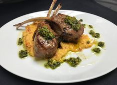 The grilled lamb chops at Viento Kitchen + Bar at Zota Beach Resort embody the restaurant's unique Florida-Mediterranean flavor. Here's the story behind the dish, plus the recipe to take home. Grilled Lamb Chops, Longboat Key, The Dish, Places To Eat, Opal, Grilling, Florida, Restaurant, Dishes