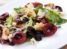 Cherry and Pecan Salad with Orange Vinaigrette - Door to Door Organics